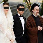 عکس های لو رفته خاتمی در عروسی پارمیس طاهری