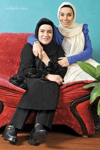 خاطره حاتمی و مادرش عفت زنجانی