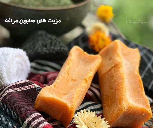 خواص صابون مراغه برای مو و پوست