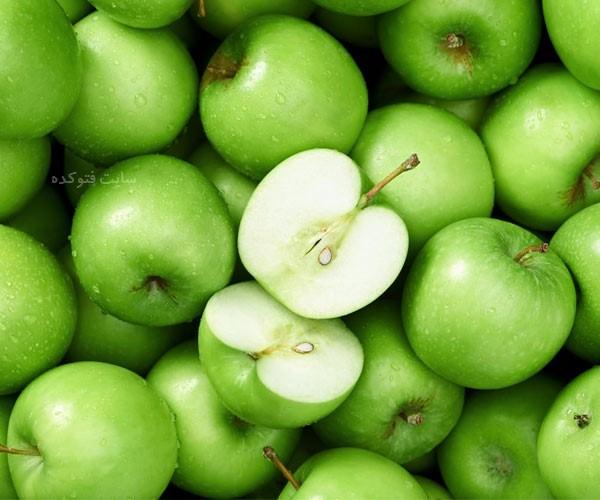 خاصیت سیب سبز