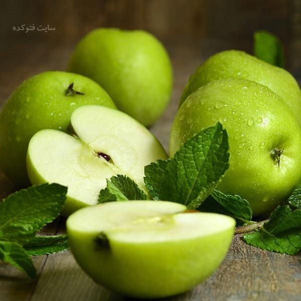 خواص سیب سبز برای پوست و مو