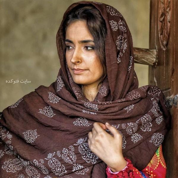 عاطفه خازنی پور بازیگر نقش لیلا در سریال به رنگ خاک
