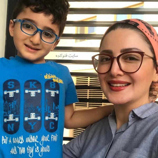 جدیدترین عکس شیلا خداداد و پسرش + زندگینامه