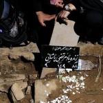 عکس مراسم دفن مرتضی پاشایی