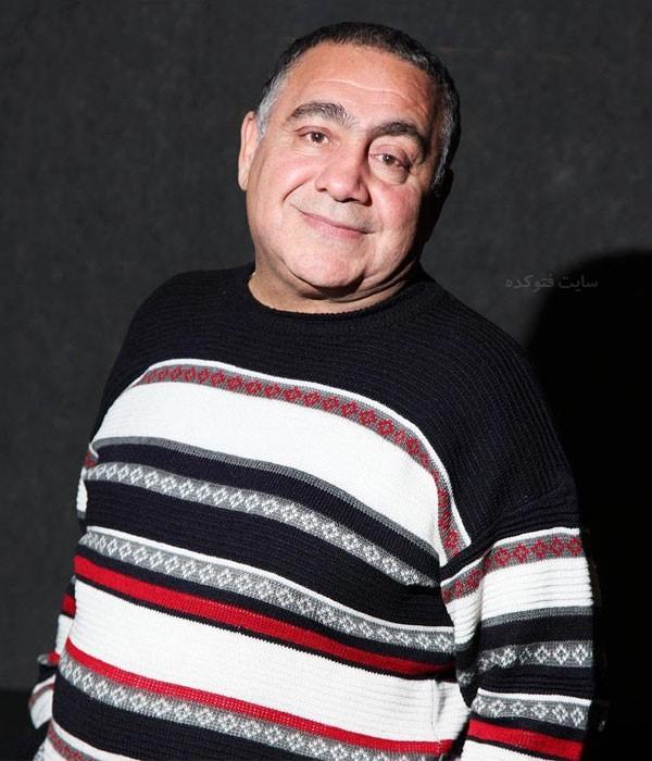 بیوگرافی خسرو احمدی بازیگر نقش دولنگ + عکس های شخصی