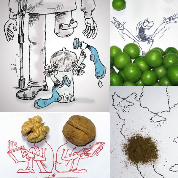 کاریکاتورهای مشهور خسروخسروانجم + بیوگرافی