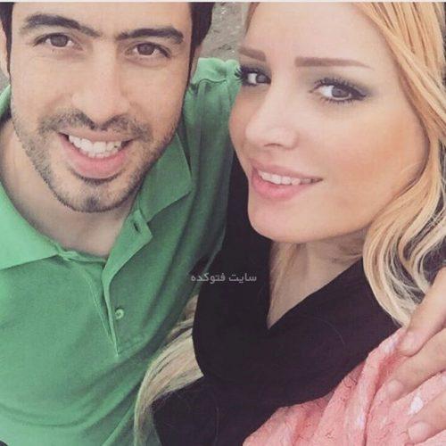 عکس جدید خسرو حیدری و همسرش لاله شفیع زاده