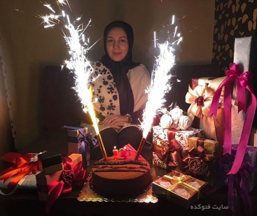 عکس کیانا یازرلو در جشن تولد