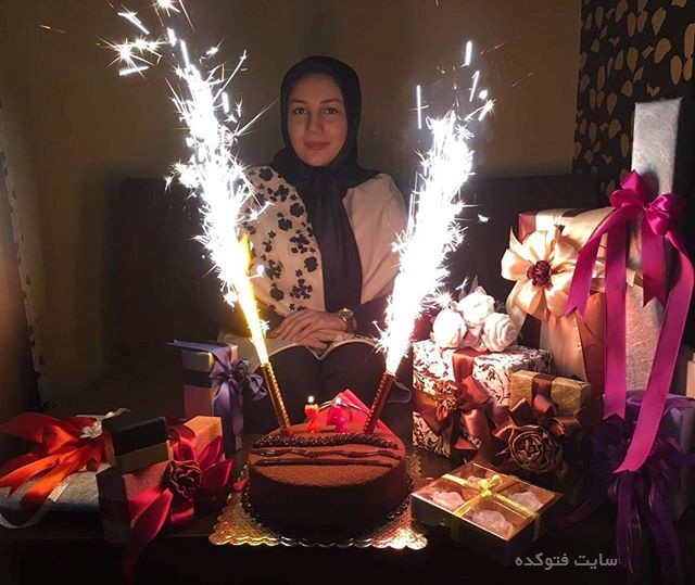 عکس كيانا يازرلو در جشن تولد