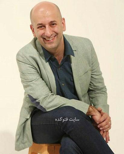 عکس كيارش زندی مجله خط خطی + زندگینامه
