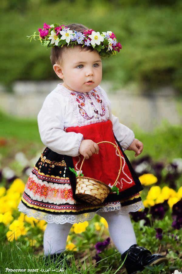 عکس بچه خوشگل رژ زده و ارایش کرده