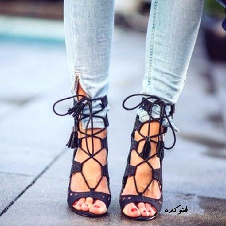 مدل جدید کفش 2014 بندی