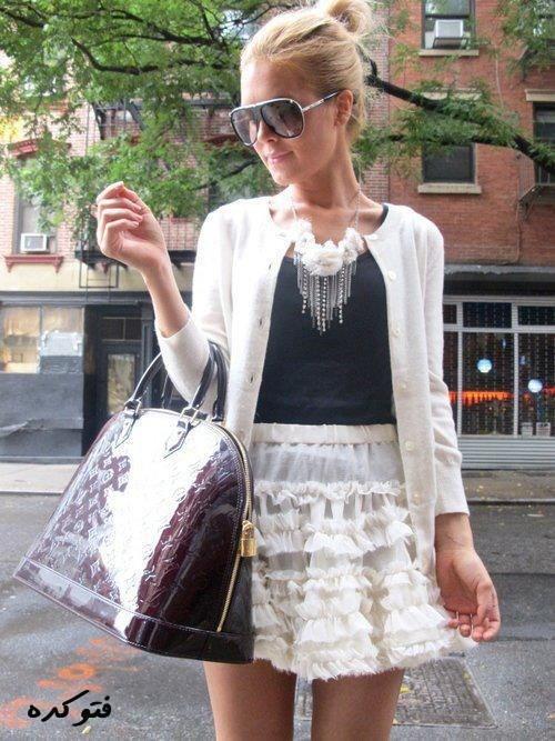 مدل جدید عینک و ست لباس و کفش دخترونه2014