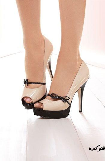 جدیدترین مدل کفش پاشنه بلند دخترونه و زنانه زیبا و قشنگ جوان پسند