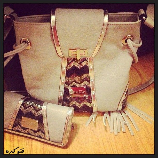 مدل جدید ست کیف دستی و جیبی زنانه2014