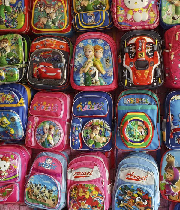 خرید کیف مدرسه برای کودکان