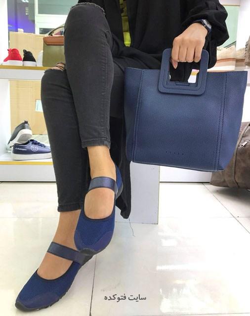 عکس مدل کیف و کفش ست 2017 دخترانه و زنانه شیک