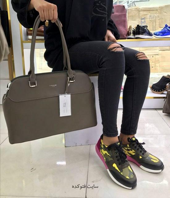 مدل کیف و کفش ست 2017 دخترانه و زنانه شیک