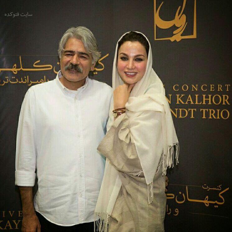 عکس کیهان کلهر و همسرشزهره سلطان آبادی + بیوگرافی