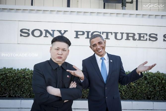 عکس دیدار اوباما با رهبر کره شمالی,عکس ملاقات محرماه اوباما با رهبر کره شمالی,عکس های دیدار کیم جونگ اون با اوباما رهبر آمریکا,عکس های فوق محرمانه اوباما