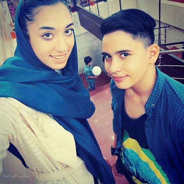 کیمیا علیزاده و برادرش + زندگی شخصی