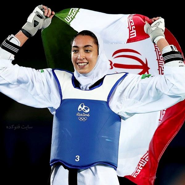 عکس های کیمیا علیزاده ورزشکار زن + بیوگرافی کامل