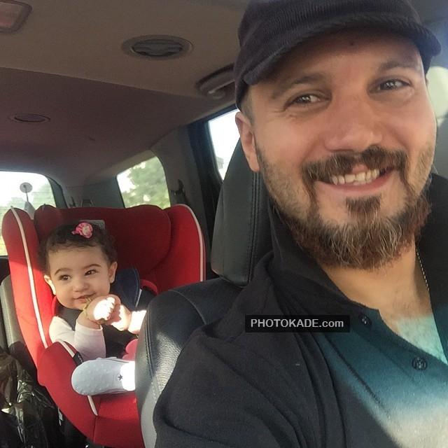 کامبیز دیرباز و دخترش نیاز + عکس و بیوگرافی