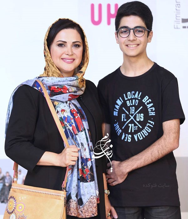 عکس هایکمند امیرسلیمانی و پسرش