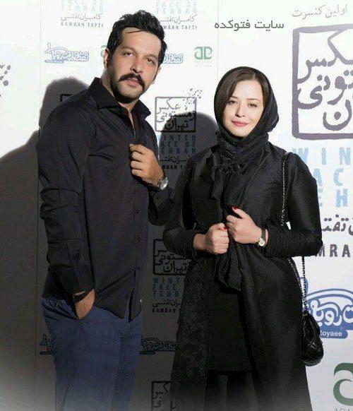 عکس کامران تفتی و مهراوه شریفی نیا + بیوگرافی کامل