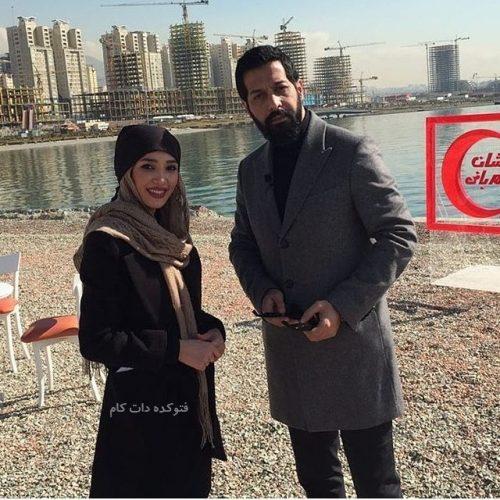 همسر کامران تفتی, عکس کامران تفتی و همسرش