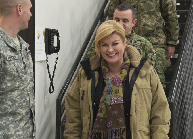 عکس های رئیس جمهور کرواسی