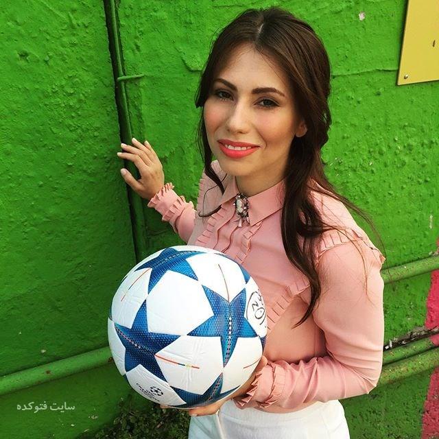 عکس و بیوگرافی ماریا کوماندنایا مجری جام جهانی 2018 روسیه