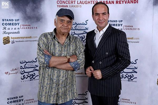 بازیگران در کنسرت خنده حسن ریوندی,عکس بازیگران در کنسرت خنده حسن ریوندی,عکس نرگس محمدی در کنسرت خنده,عکس های جدید از هنرمندان در کنسرت شو من حسن ریوندی,عکس