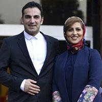 کوروش سلیمانی و همسرش + دخترش نازآفرین