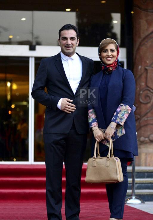 کوروش سلیمانی و همسرش + بیوگرافی