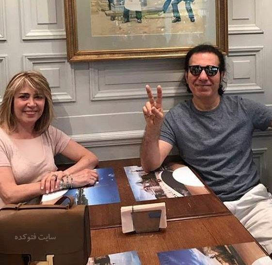 عکس کوروس شاهمیری و همسرش سوسن