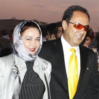 کتایون ریاحی و همسر پولدارش + پسرش پوریا