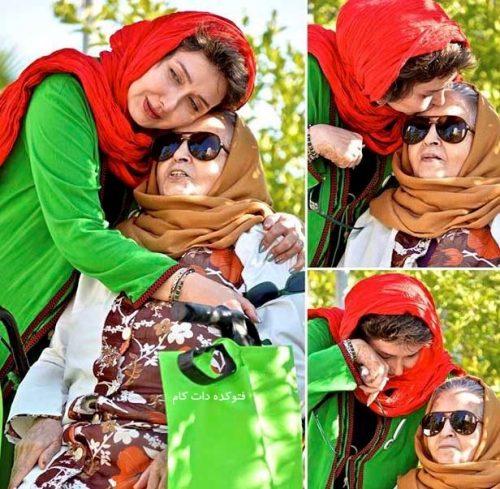 عکس کتایون ریاحی و مادرش + زندگینامه