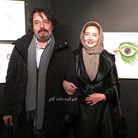 عکس کتایون ریاحی و برادرش علیرضا ریاحی