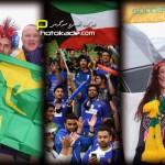 عکس تماشاگران استرالیا و کویت