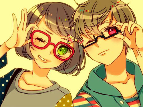 عکس دختر و پسر کارتونی