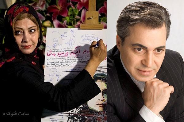عکسلادن طباطبایی و همسرش سعید تهرانی