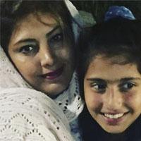 مهاجرت لادن طباطبایی و دخترش از ایران