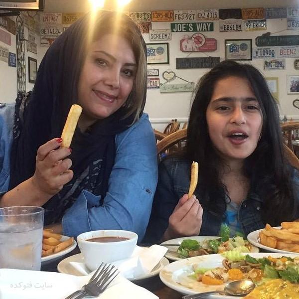 عکس های لادن طباطبایی و دخترش سها + بیوگرافی کامل