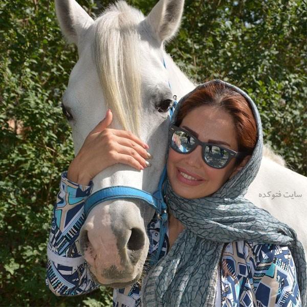 عکس های لاله صدیق اتومبیلران مشهور به شوماخر کوچولو ایران