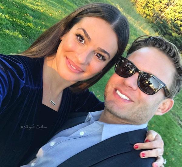 عکس های لی میشل و همسرش + بیوگرافی کامل