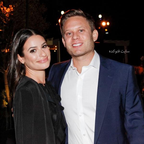 عکس های لی میشل با همسرش
