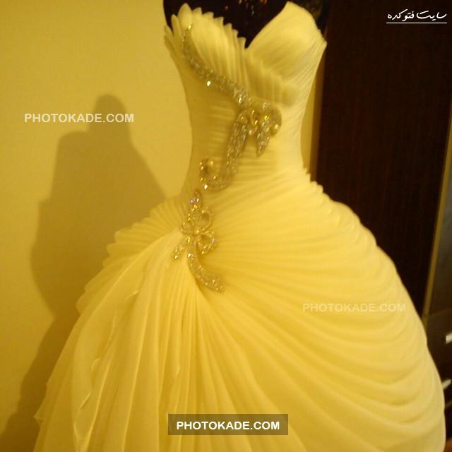 مدل لباس عروس در فیسبوک,مدل لباس عروس مد روز 94,مدل های زیبا و جدید لباس عروس,مدل های لباس رنگی عروس سال 2015