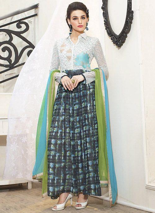 جدیدترین مدل لباس هندی 2017 ساری دخترانه و زنانه