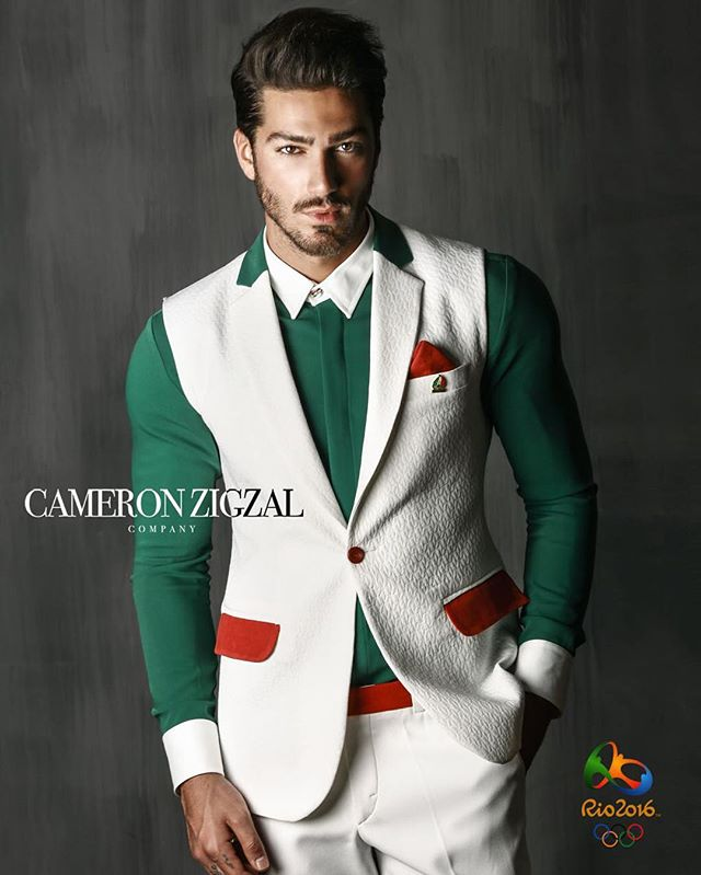 لباس نهایی کاروان المپیک 2016 طراحی کامران بختیاری